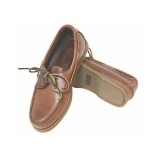 Skipper Deck Shoes, brown leather/brown sole, no 36 - 46