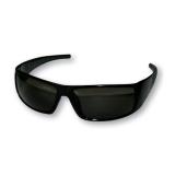 Поляризационные очки, темно-серые линзы, глянцевая черная оправа
