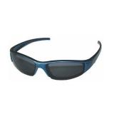 Поляризационные очки для детей, серые линзы, глянцевая черная оправа