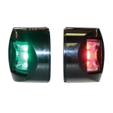 "LED Side Lights ""FOS LED12"", Red/Green, 112.5°, vertical mount"