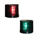 "LED Side Lights ""FOS LED12"", Red/Green, 112.5°, horizontal mount"
