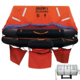 Liferaft SOLAS OCEANO, Throw Over-board, Pack B, 20 persons