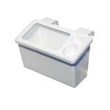 Boat Bait and Storage Bin with Cup Holder for Gunwale