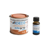 Adeco Adegrip two components PVC glue and activator kit (125+10ml)