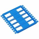 Мотовильце, синий пластик, 6.3x6.3см
