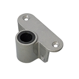 Rowlock Socket, aluminium, Ø17mm, side/top mount