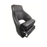 Captain Chair Nassau Sport, Black (Black sewing)