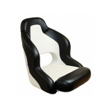 Captain Chair Sport, Black-White