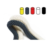 Aqua Polyester 12/24 Braided ropes 8 - 40mm