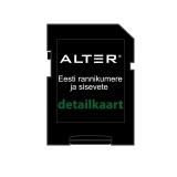 Detailkaart ALTER-3 Eesti rannik 20NM ja siseveed