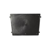 Transom Plate, 430x350mm, Black, plastic