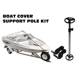 Telescopic Boat Cover Support Pole Kit