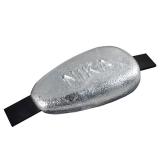 Hull Anode, 170 x 100mm, 2.7kg, Zn